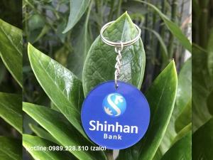 Móc Khóa Mica ShinhanBank